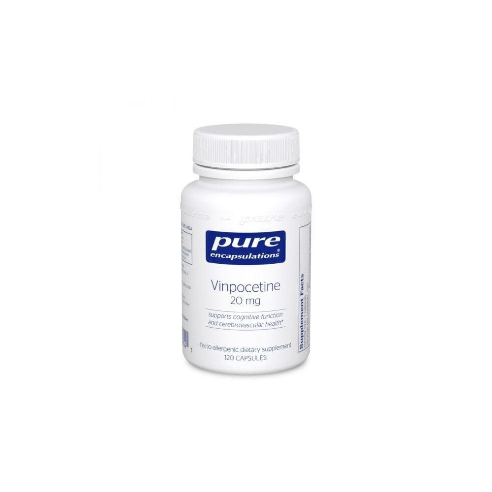Pure Encapsulations Vinpocetine 20 mg -- 60 Capsules