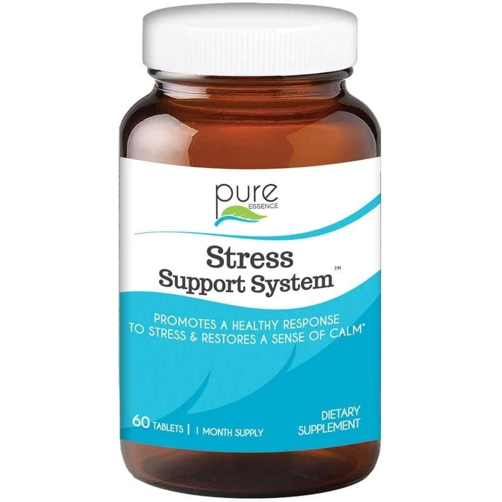 Pure Essence Stress Support System -- 60 Tablets