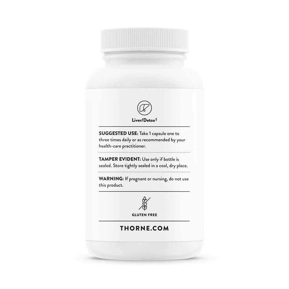 Thorne Liver Cleanse -- 60 Capsules