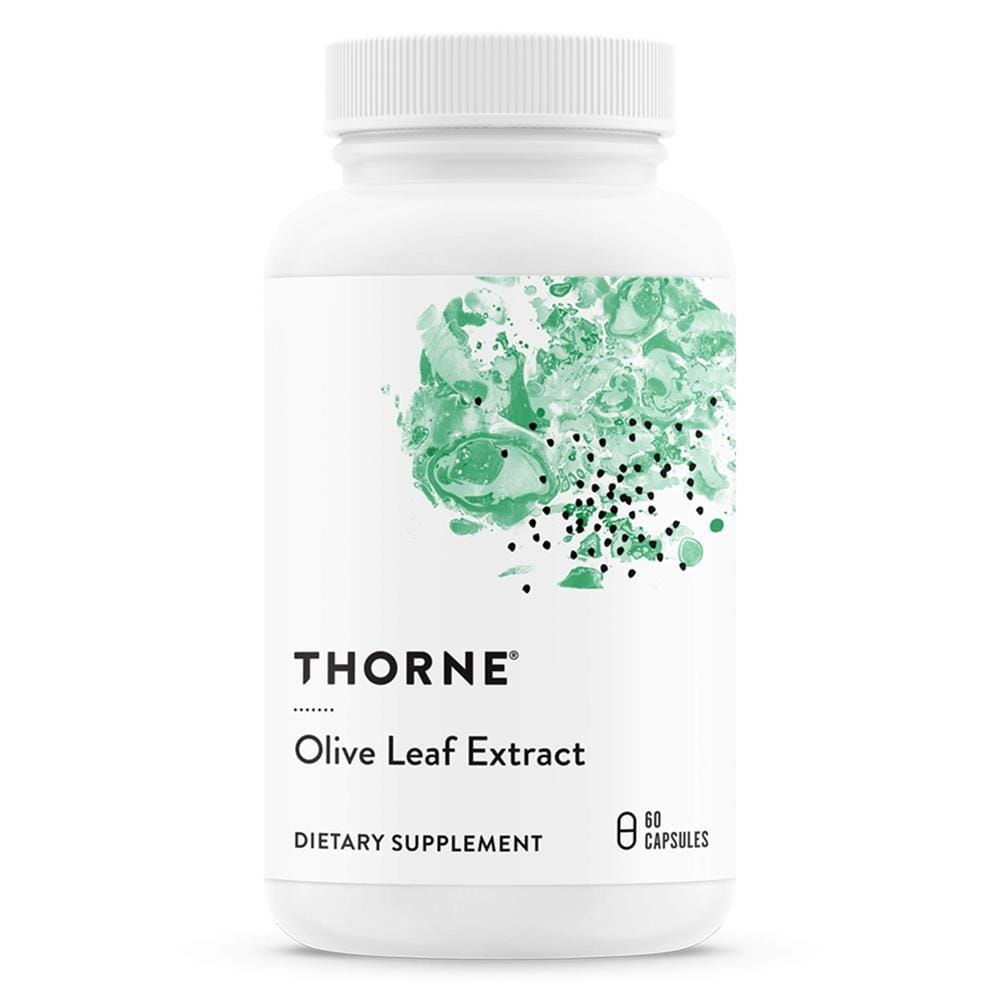 Thorne Olive Leaf Extract -- 60 Capsules