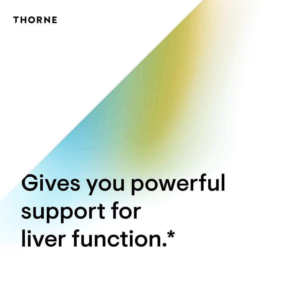 Thorne Research Liver Cleanse -- 60 Capsules