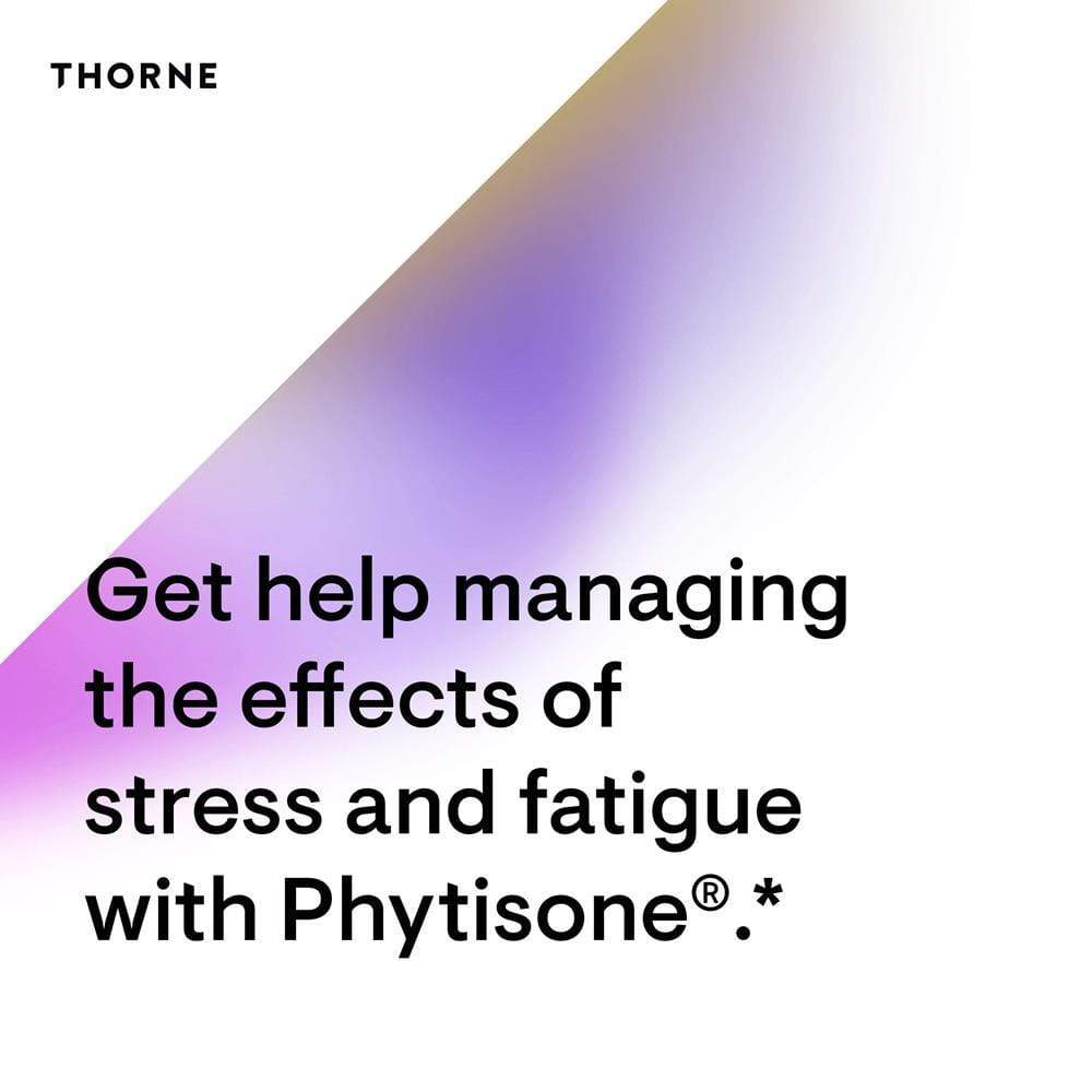 Thorne Research Phytisone -- 60 Capsules