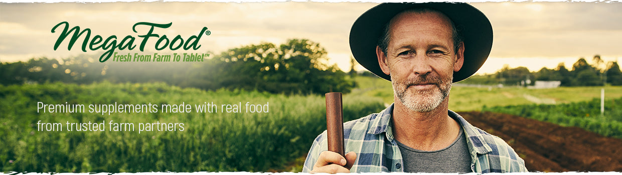 Shop the MegaFood Store Fresh from Farm to Tablet