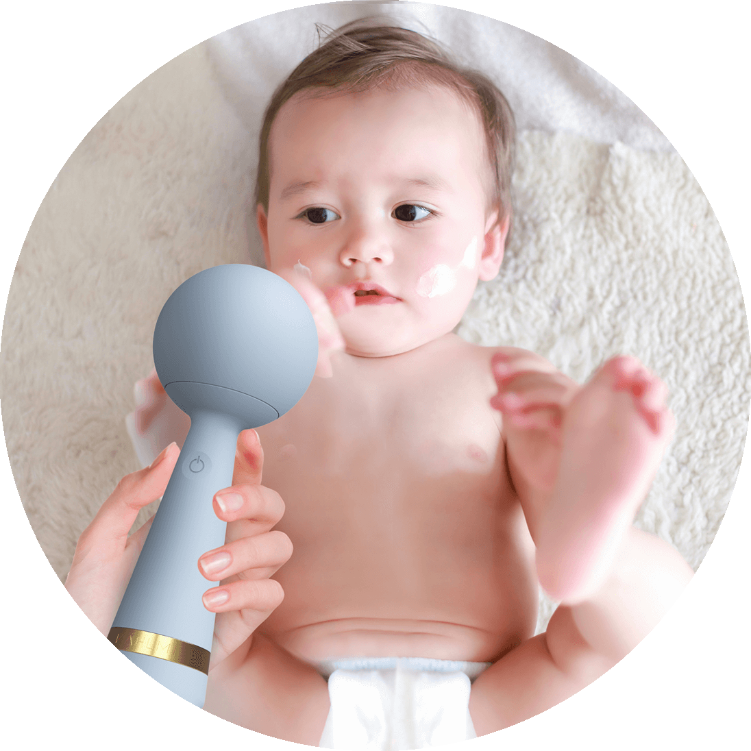 calms colic and gas