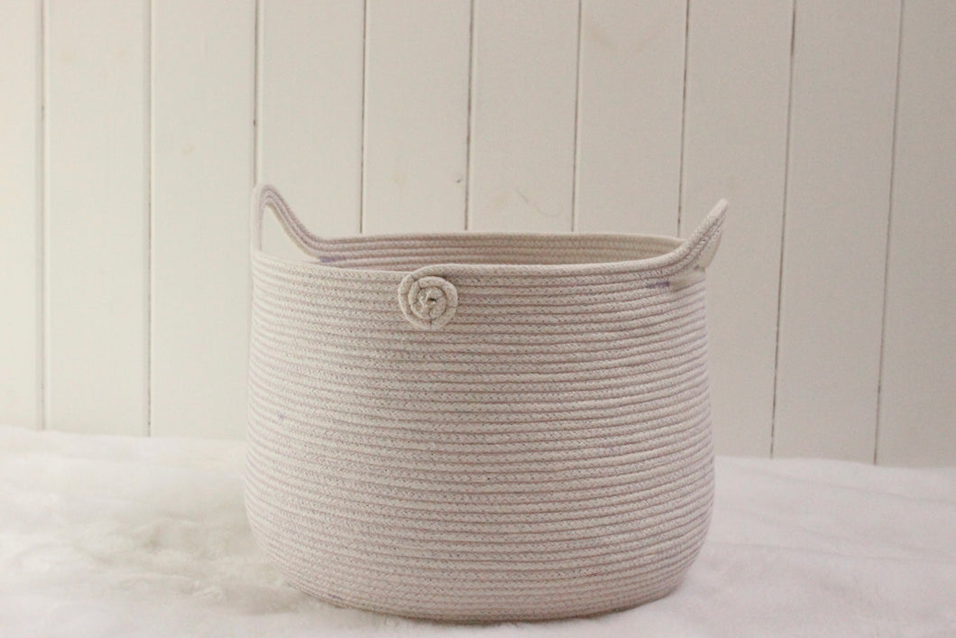 Basket 47 with Lavender thread