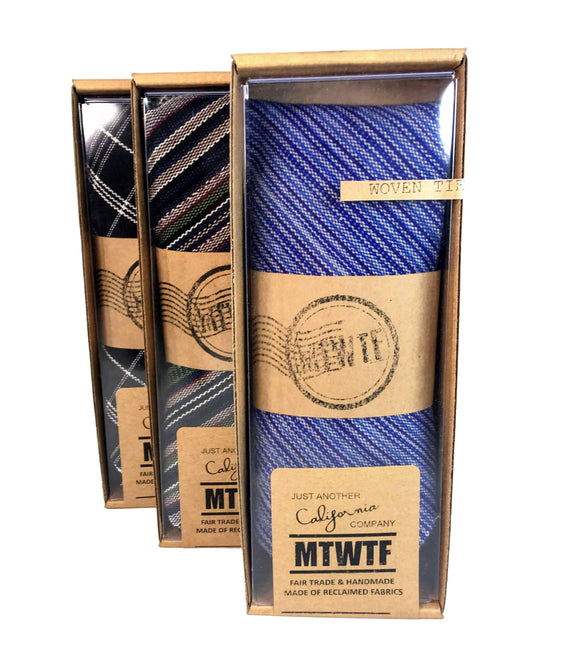 Fair Trade RE-cycled Tie