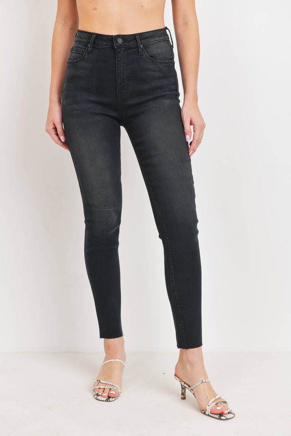 Just Black Denim Scissor Cut Skinny