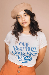 Bee and Fox Best Buzz Graphic Tee
