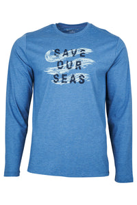 United By Blue  Save our Seas  L/S tee