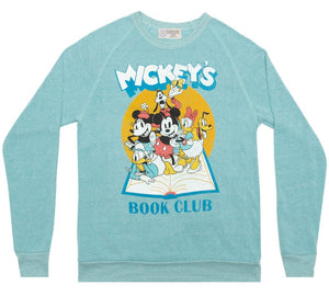 Out of Print Disney Mickey Mouse Book Club unisex sweatshirt