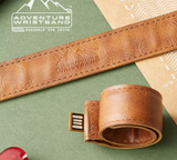 Adventure Wristband- wearable usb storage