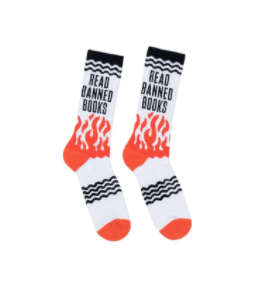 Out of Print READ Socks