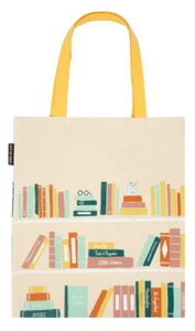Out Of Print Bookshelf Tote
