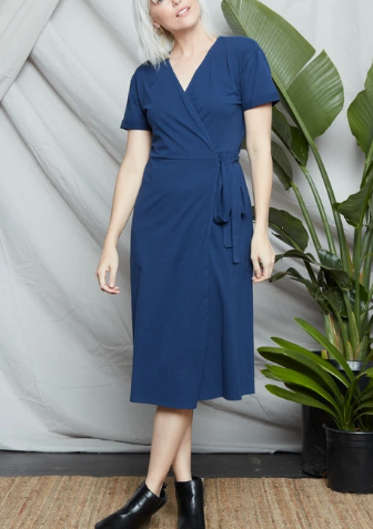 Known Supply Briar Wrap Dress