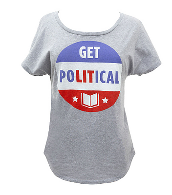 Out of Print Political Tee's Women
