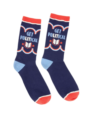 Out Of Print Get Political Socks