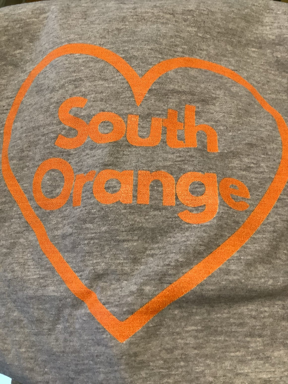 South Orange Love Tee