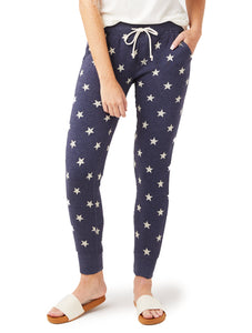 Printed Eco Fleece Alternative Apparel Star Joggers