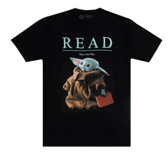 Out of Print: Baby Yoda READ Unisex Tee