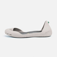 Load image into Gallery viewer, Freshoes Light Grey with the Suede leather insoles Ash Grey side view