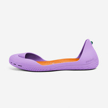 Charger l'image dans la galerie, Freshoes Lilas with the Suede leather insoles Amber Orange side view