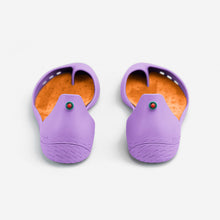 Charger l'image dans la galerie, Freshoes Lilas with the Suede leather insoles Amber Orange perspective view