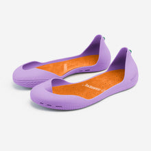 Charger l'image dans la galerie, Freshoes Lilas with the Suede leather insoles Amber Orange rear view