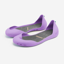 Charger l'image dans la galerie, Freshoes Lilas with the Suede leather insoles Ash Grey perspective view