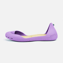 Charger l'image dans la galerie, Freshoes Lilas with the Vegan insoles Beige side view