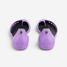 Charger l'image dans la galerie, Freshoes Lilas with the Vegan insoles Black rear view