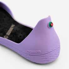Charger l'image dans la galerie, Freshoes Lilas with the Vegan insoles Black close up view