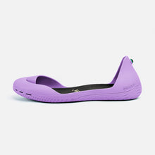 Charger l'image dans la galerie, Freshoes Lilas with the Waterproof insoles Black side view