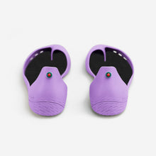 Charger l'image dans la galerie, Freshoes Lilas with the Waterproof insoles Black rear view
