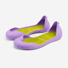Charger l'image dans la galerie, Freshoes Lilas with the Suede leather insoles Yellow Green perspective view