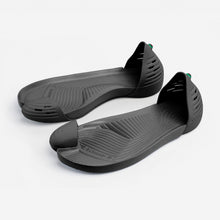 Load image into Gallery viewer, Jungle Light Black with Black soles perspective view