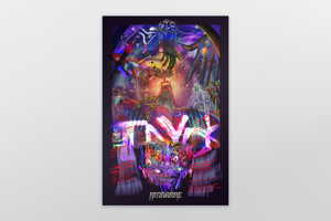 "TAYDK ""Mad Wurld"" Collage Poster"