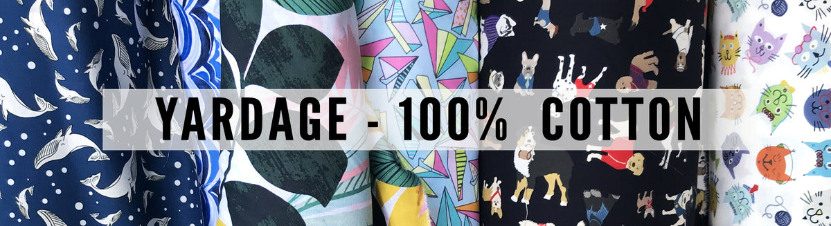 Yardage - 100% Cotton (Uncoated)