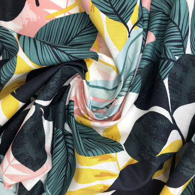 ALOHA STREET Fabric - 100% Cotton (Uncoated) - by the yard