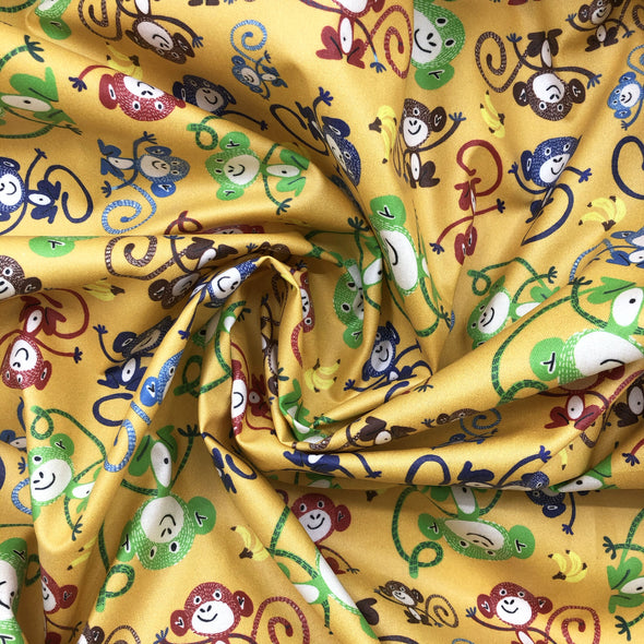 BANANA Fabric - Laminated Cotton - 10yd Roll