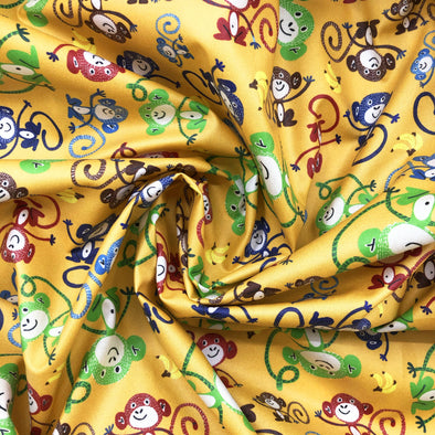 BANANA Fabric - Laminated Cotton - by the yard