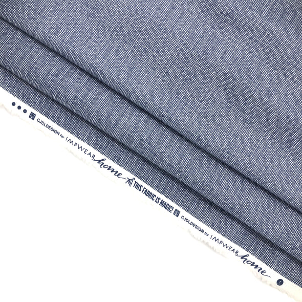 DENIM Fabric - Laminated Cotton - by the yard SHIPS NOW!