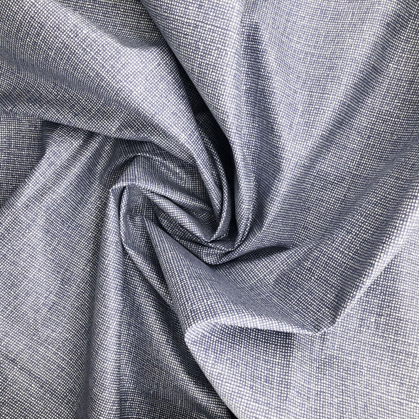 DENIM Fabric - Laminated Cotton - 10yd Roll SHIPS NOW! (Back in stock)