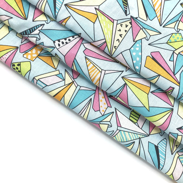 PARTY PLANE Fabric - 100% Cotton (Uncoated) - by the yard
