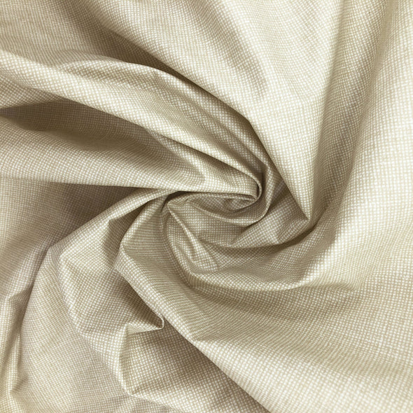 SAND Fabric - Laminated Cotton - by the yard