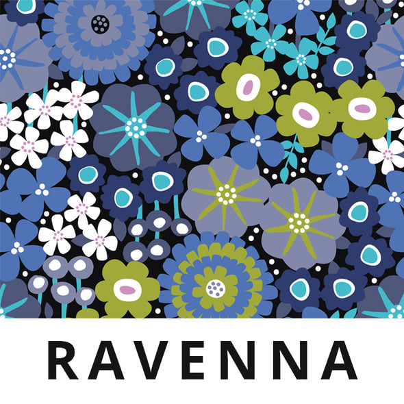 RAVENNA Fabric - Laminated Cotton - by the yard