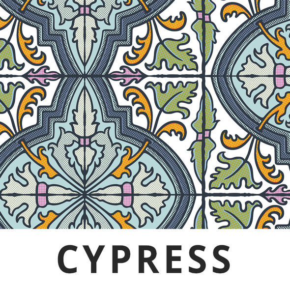 CYPRESS Fabric - Laminated Cotton - by the yard
