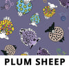 PLUM SHEEP Fabric - Laminated Cotton - 10yd Roll