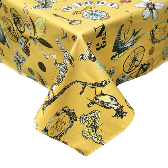 MUSTARD Tablecloths - 3 sizes!