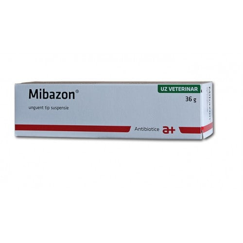 MIBAZON 36g ointment tratament for EYE & cutaneous infection - Bovine,Cat,Dog