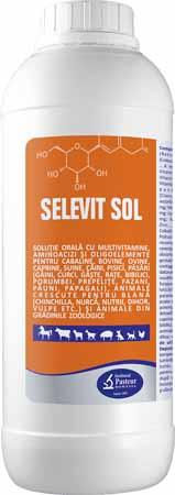 SELEVIT SOL Oral vitamins for all farms animals